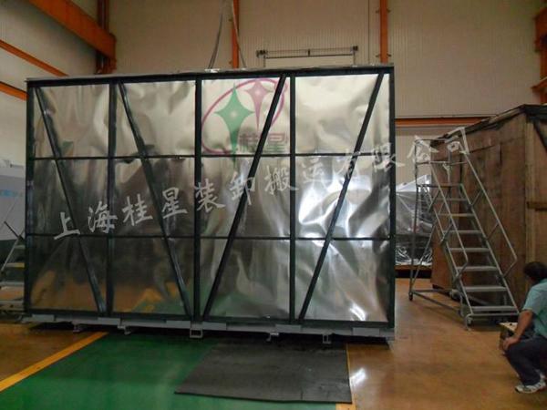 大型设备铁箱包装