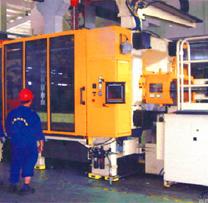 1000T压铸机安装调试