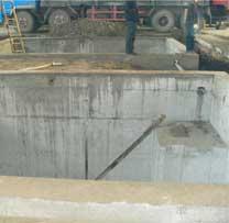 大型冲床设备基础制作