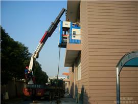 精密设备吊装上楼